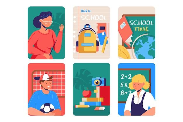 Powrót do projektu szablonu karty szkolnej