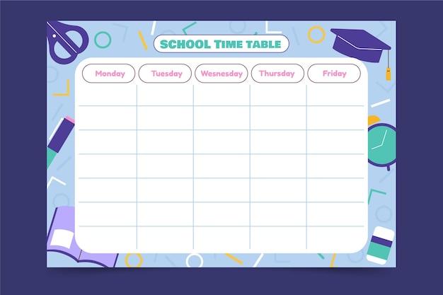 Powrót do szablonu planu lekcji