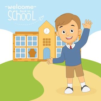 Powrót do szkolnego banera