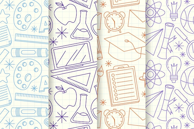 Powrót do szkolnej kolekcji wzorów