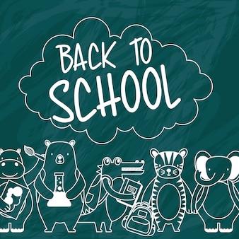 Powrót do szkolnych kreskówek