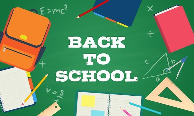 Powrót do szkoły wektor