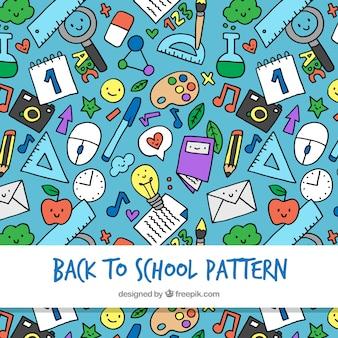 Powrót do szkoły wzór