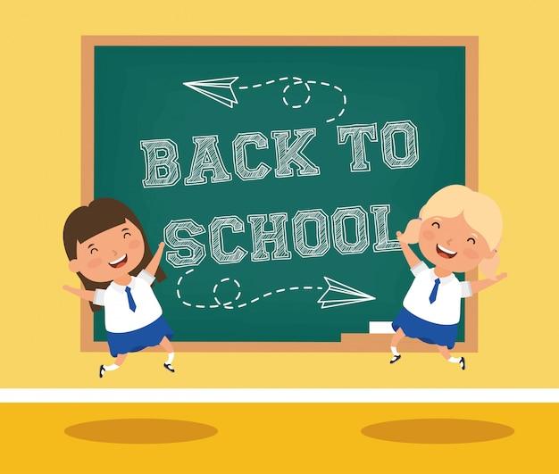 Powrót do szkoły z uczennicami