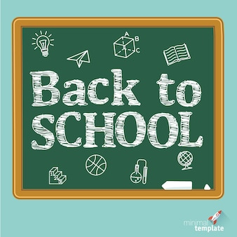 Powrót do tablicy szkolnej. tablica szkolna