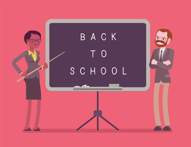 Powrót do tablicy szkolnej
