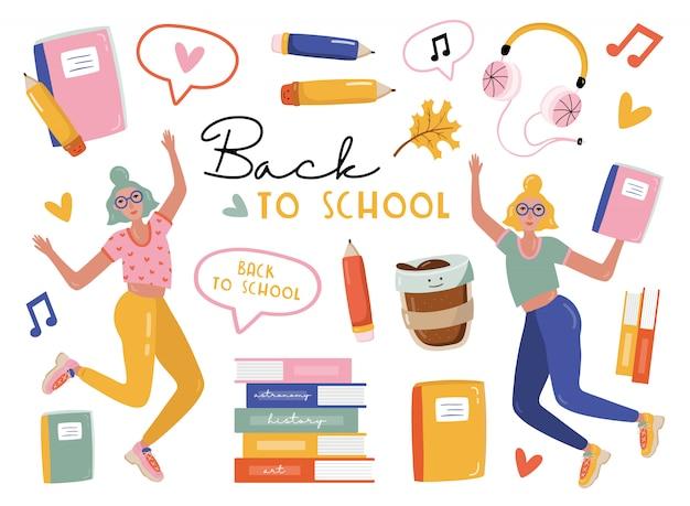 Powrót do zestawu elementów szkoły.