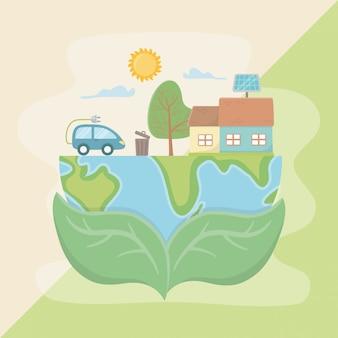Pozostawia gospodarstwa planety i oszczędzać energię