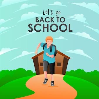 Pozwala wrócić do ilustracji szkoły