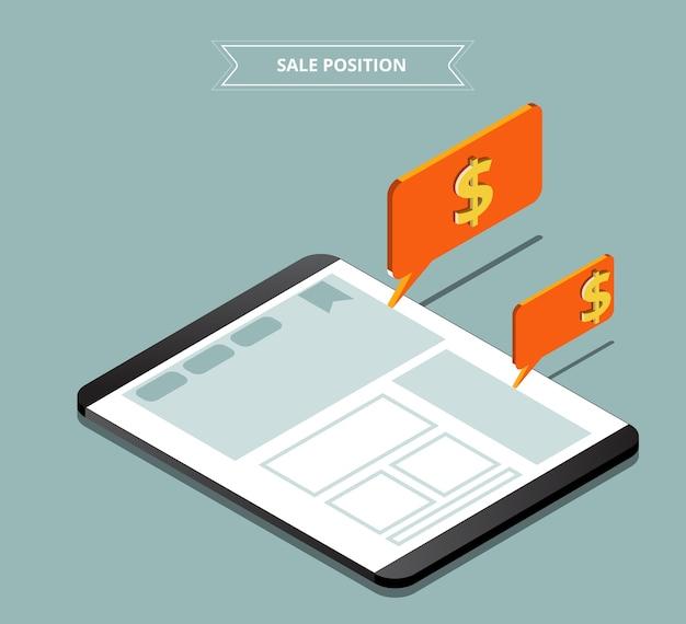 Pozycja strony na sprzedaż. reklamuj na sprzedaż