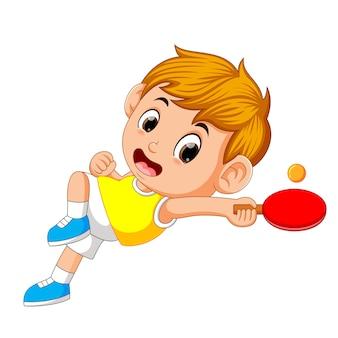 Pozycje gracza tenisa stołowego