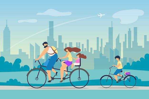 Pozytywny efekt zdrowia wektor aktywnego stylu życia.