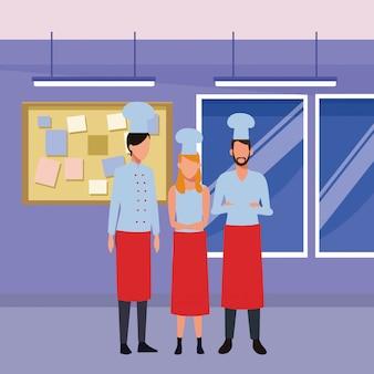 Praca szefa kuchni i zawód