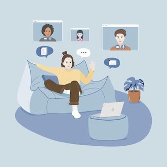 Praca z domu staje się nowa normalna, dostosowując się do nowej normy.