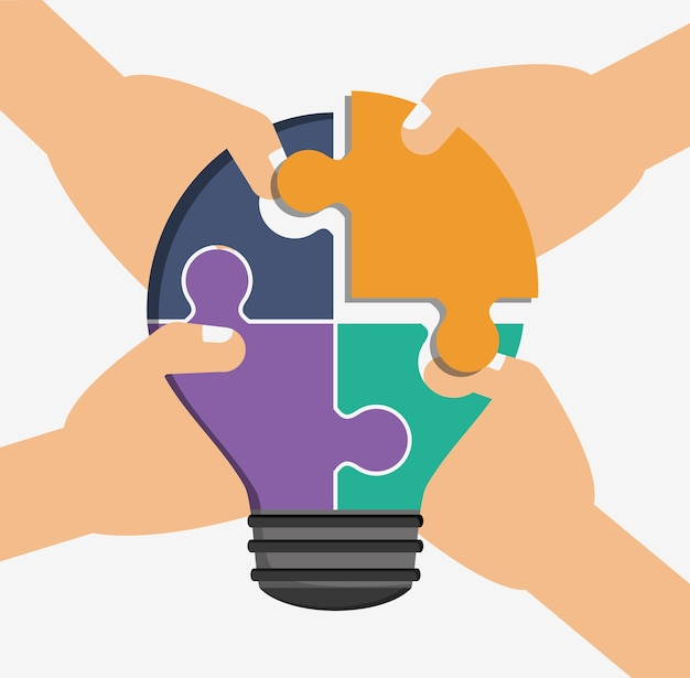 Praca zespołowa i projektowanie puzzli