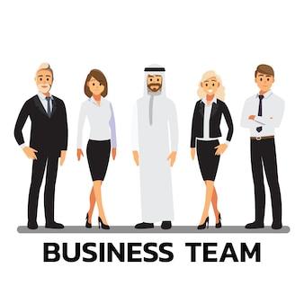 Praca zespołowa ludzi biznesu