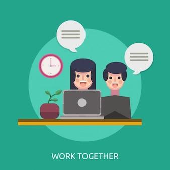 Pracować razem