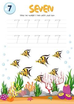 Praktyka pisania numer siedem