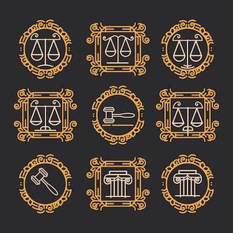 Prawdziwe etykiety firmowe i odznaka