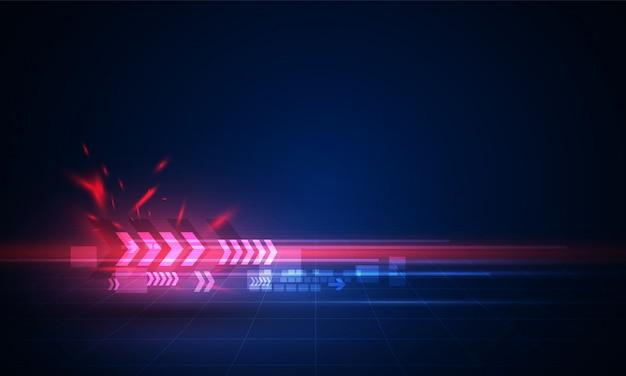 Prędkość ruch wzór wzór tła