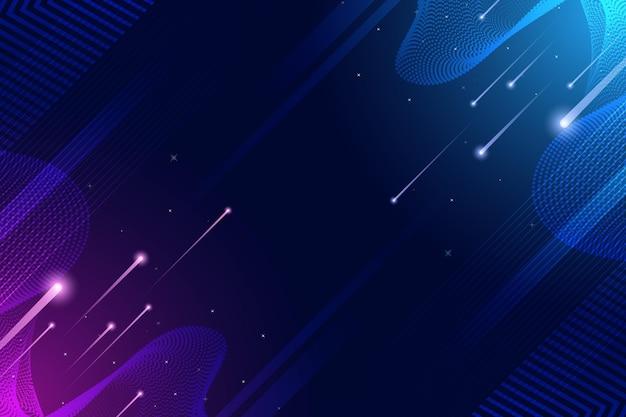 Prędkość światła i reflektory cyfrowe tło