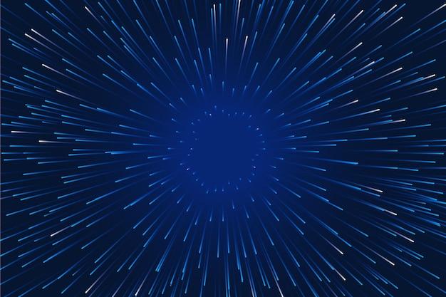 Prędkość światła tła z efektem deszczu