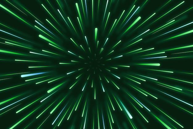 Prędkość światła w tle
