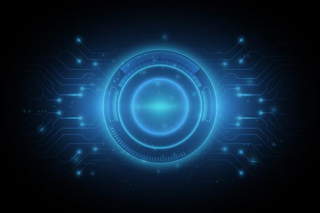 Prędkość tunelu połączenia sieci koncepcja tło projektu
