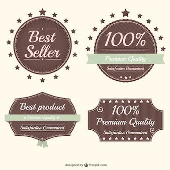 Premia jakości naklejki