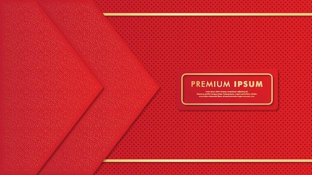 Premium czerwona tapeta