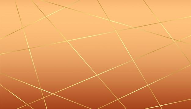Premium luksusowe tło ze złotymi liniami i pastelowym tłem