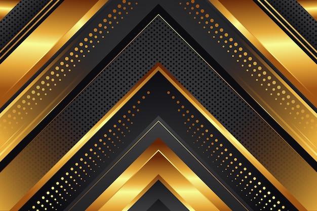 Premium złote luksusowe tło