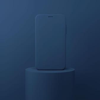 Prezentacja 3d telefonu komórkowego