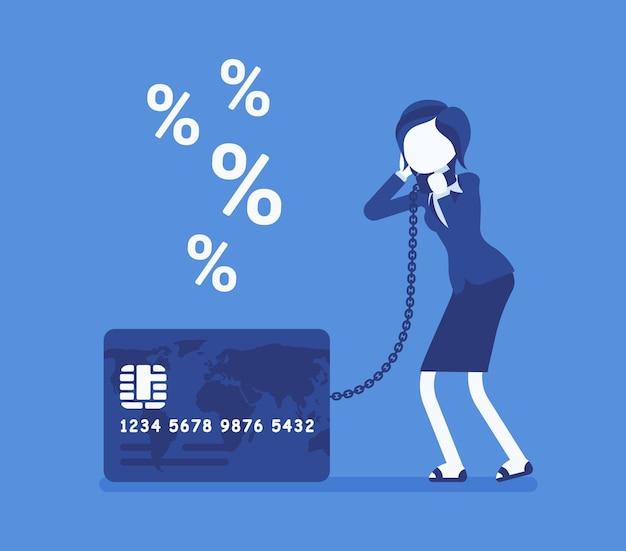Problem ze stopą procentową posiadaczy kart kredytowych dla kobiet