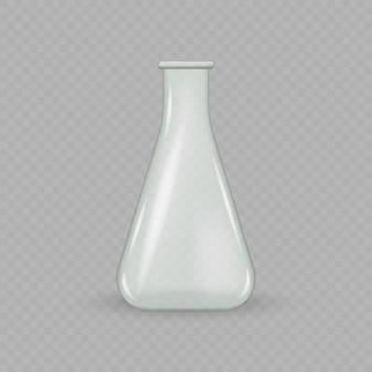 Probówka szklana laboratoryjna.