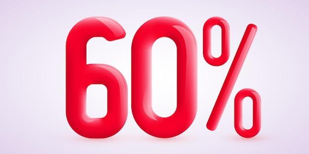 Procent Zniżki Na Twórczą Kompozycję D Symbol Sprzedaży Z Ozdobnym Banerem Sprzedaży Konfetti I Plakatem Premium Wektorów