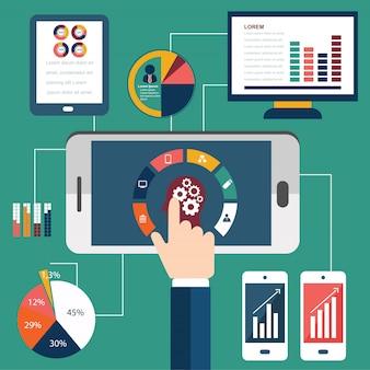 Proces programowania i internetowe elementy analityczne