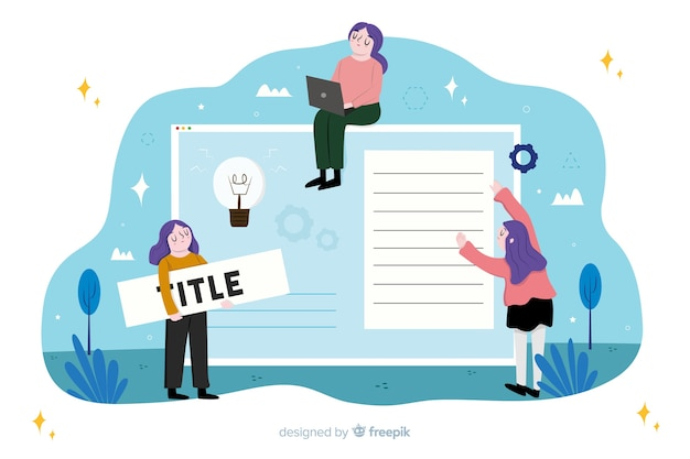 Proces projektowania koncepcji strony docelowej