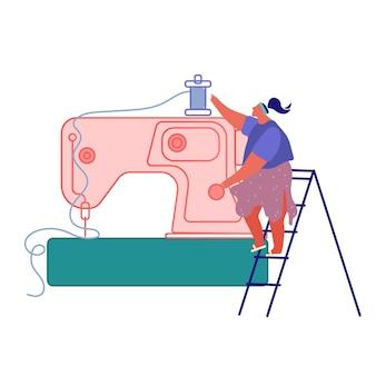 Produkcja przemysłowej odzieży tekstylnej