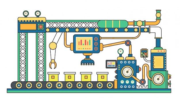 Produkcja przenośników taśmowych przemysłowych