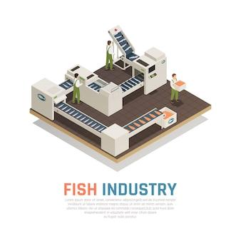 Produkcja żywności Morskiej Darmowych Wektorów