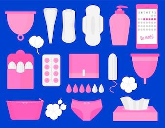 Produkty higieny kobiety