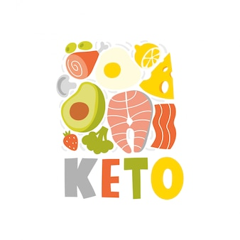 Produkty na diecie ketogenicznej