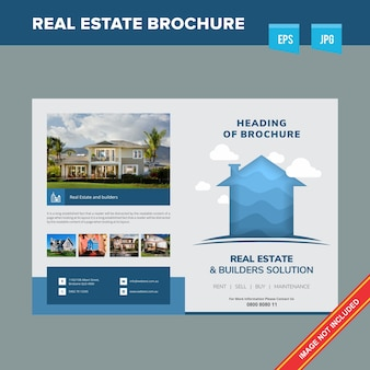 Profesjonalna broszura dotycząca nieruchomości