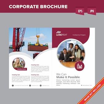 Profesjonalna broszura firmy cargo