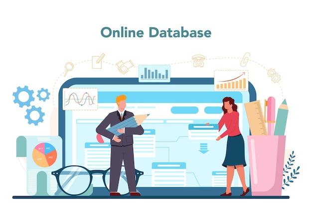 Profesjonalna usługa lub platforma konsultanta online