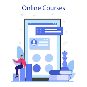 Profesjonalna usługa lub platforma konsultingowa online.