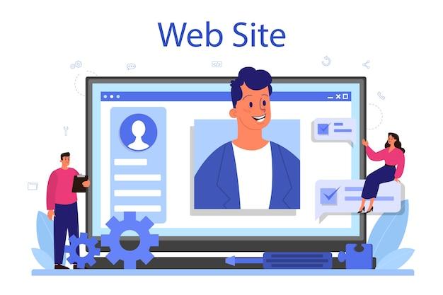 Profesjonalna usługa lub platforma konsultingowa online