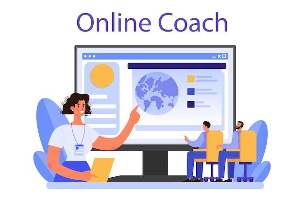 Profesjonalna usługa lub platforma online dla mówców