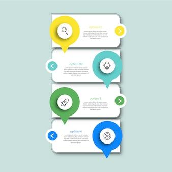 Profesjonalne projektowanie infografik na osi czasu